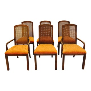 Vintage Dixie Mid-Century Dining Chairs - Set of 6
