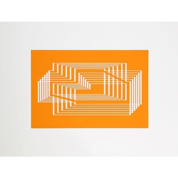 "Josef Albers ""Portfolio 1, Folder 31, Image 2"" Print - Image 2 of 3"