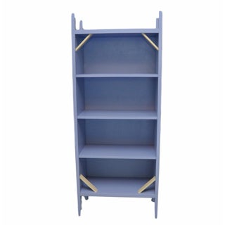 Maine Cottage Light Blue Bookcase
