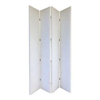Hickory Chair Four Panel Screen Divider