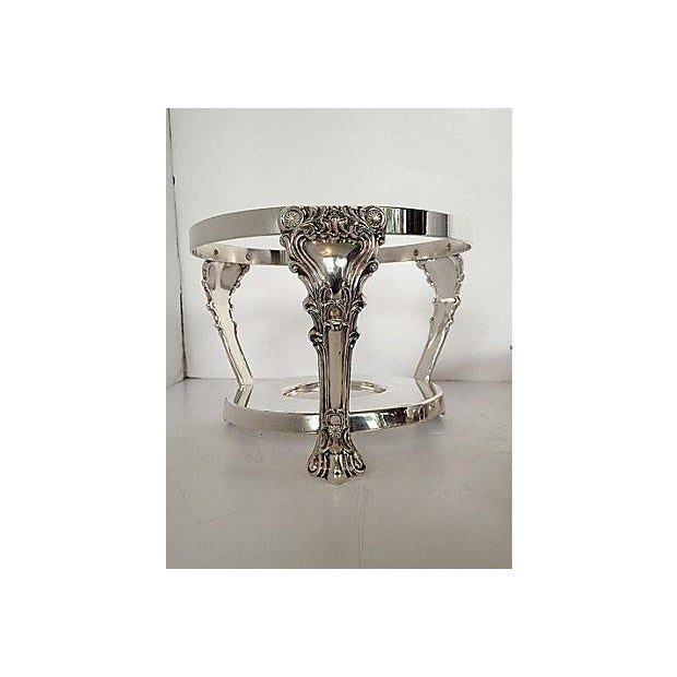 F.B. Rogers Silverplated Chaffing Dish Set - Image 5 of 10