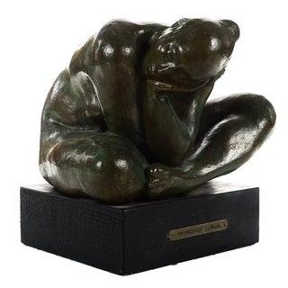 "Francisco Zuniga ""Mujer Agachada"" Bronze Sculpture"