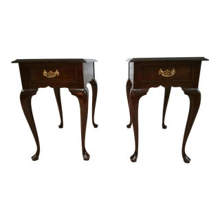 Stickley Cherry Valley Side Tables - A Pair