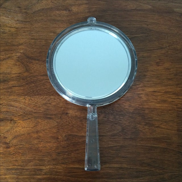Image of Vintage 2-Sided Hand Mirror