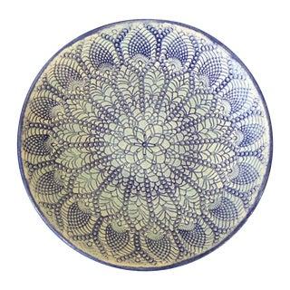 Lois Keller Porcelain Lace Pressed Dish