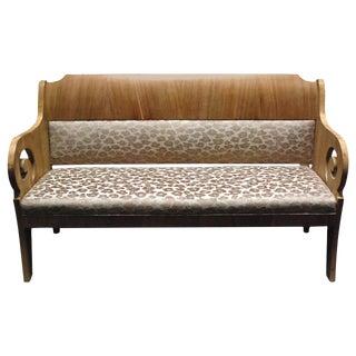 19th c. Baltic Mahogany Sofa