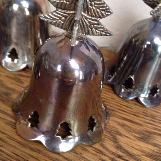 Vintage Silverplated Bells - Set of 4 - Image 4 of 5