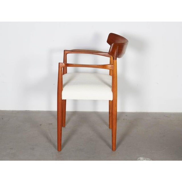 Image of Danish Modern Arm Chairs by Knud Faerch, Pair