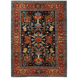 "Ziegler, Hand Knotted Area Rug - 6' 1"" X 8' 7"""
