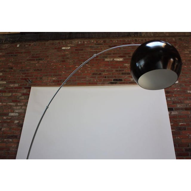 Fully Adjustable Vintage Arching Floor Lamp - Image 3 of 9