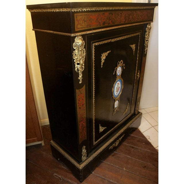 Authentic meuble boulle napol on iii cabinet chairish for Meuble napoleon 3