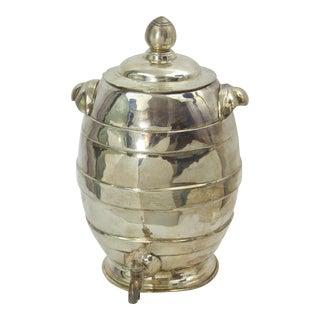 Indian Silver Beehive Tea Urn