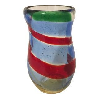 Memphis Style Studio Glass Vase