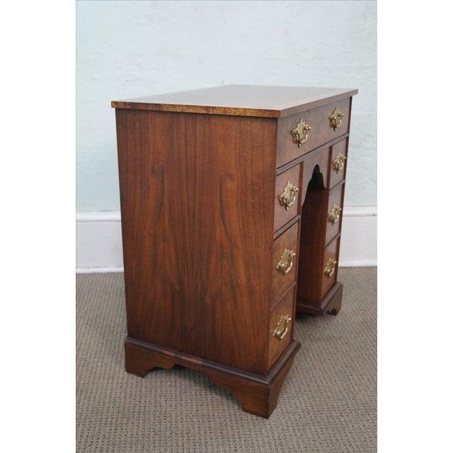 Baker George II English Style Knee Hole Desk - Image 3 of 10