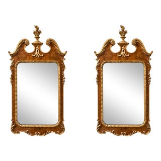 Labarge Italian Giltwood Mirrors - a Pair