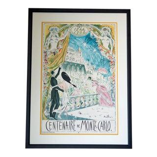Cecil Beaton 'Centenaire De Monte Carlo' Lithograph