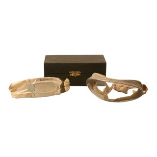Early 20th Century Vintage Rayonnante Driving Goggles in Fitted Box - A Pair