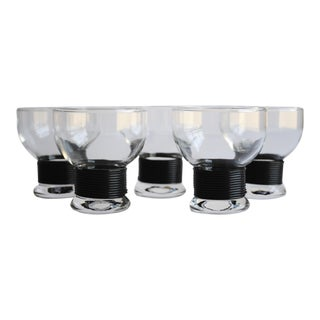 Mid-Century Cocktail Glasses, Set of 5
