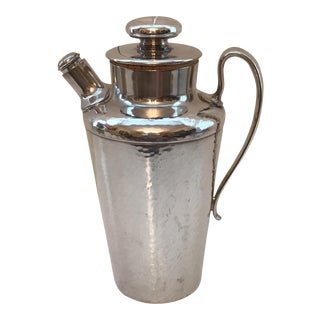 Meriden Silver Plate Art Deco Cocktail Shaker