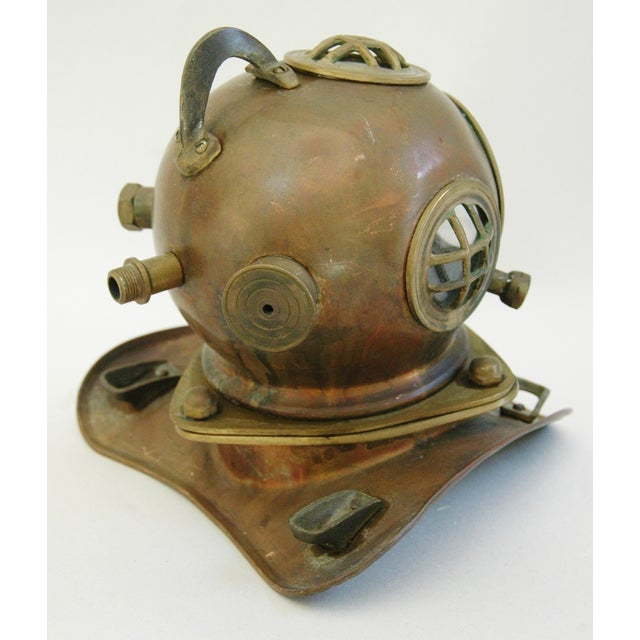 1960's Nautical Brass Diving Helmet - Image 8 of 9