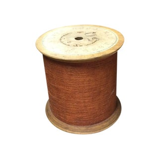 Vintage Coats Thread Spool Table