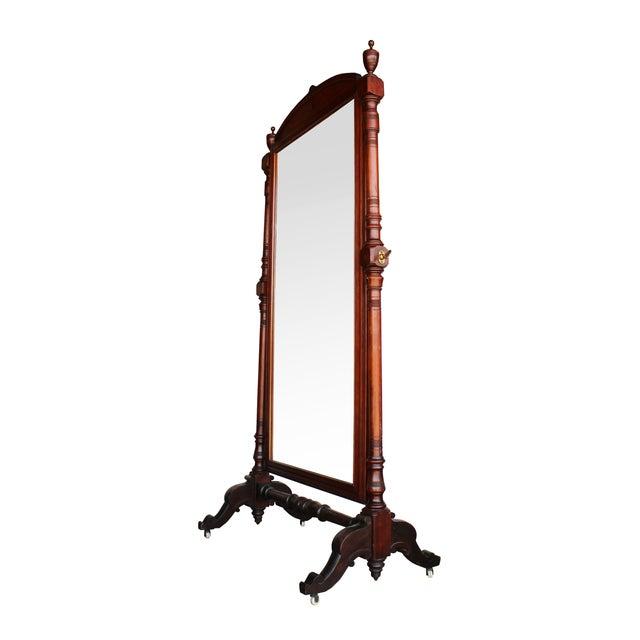 Antique Freestanding Dressing Mirror - Image 2 of 5