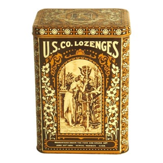 Vintage Licorice Tin