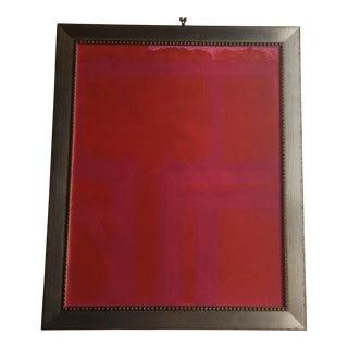 Pink Custom Framed Wall Art