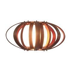 Vintage Bent Wood Wall Mounted Lamp - Image 1 of 6