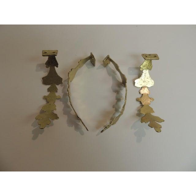 Vintage Polished Brass Curtain Tiebacks - Set of 4 - Image 3 of 4