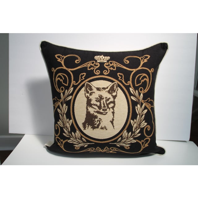 Fox Tapestry Pillow Cover - Image 2 of 4