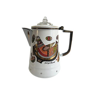 Signed Georges Briard Coffee Pot
