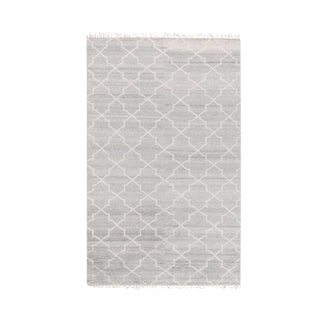 Silver Hand Knotted Terrace Rug - 5' x 8'