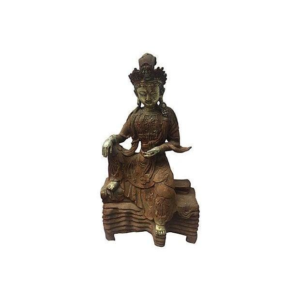Image of Antique Goddess, Quan Yin