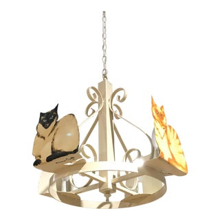Petersen-Crafts Cat Chandelier