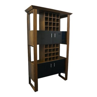 Zebrawood Wine Rack