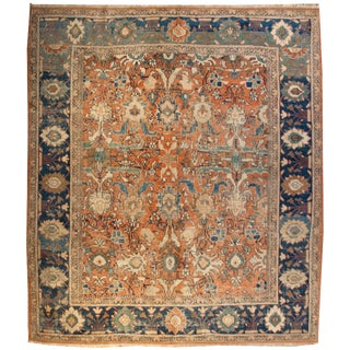 19th Century Sultanabad Rug