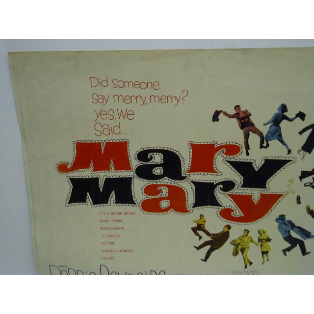 Vintage Movie Poster 'Mary Mary' - Image 3 of 4