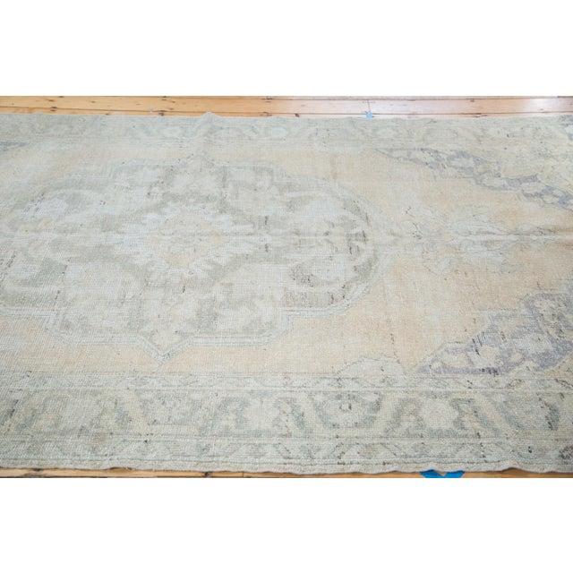 "Peach Distressed Oushak Carpet - 5'9"" x 9'6"" - Image 2 of 8"