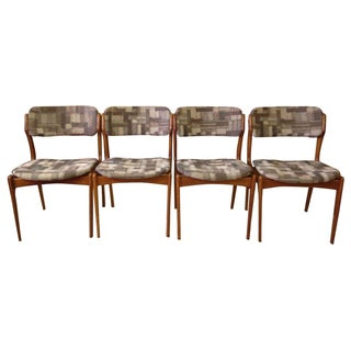 Erik Buck Teak Model 49 Dining Chairs - Set of 4