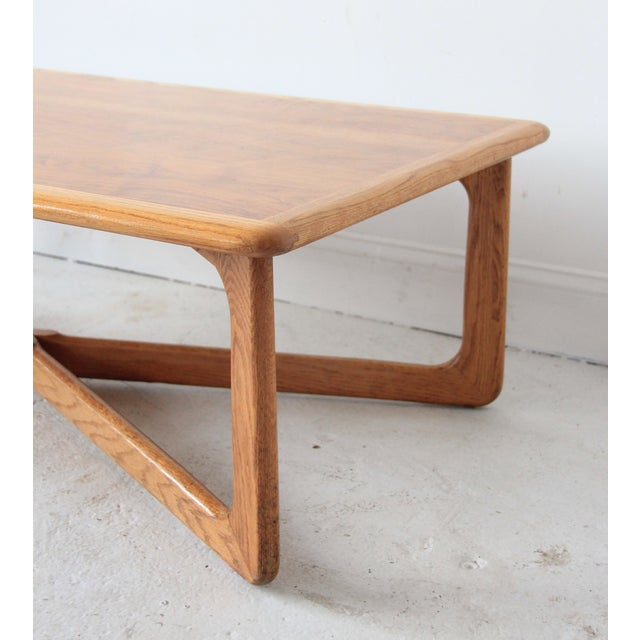 Lane Sculpted X-Base Coffee Table - Image 4 of 5