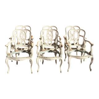 Vintage Hollywood Regency Chair Frames - Set of 6