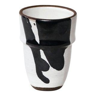 Black & White Ceramic Cup