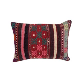 Vintage Wool Kilim Pillow Sham
