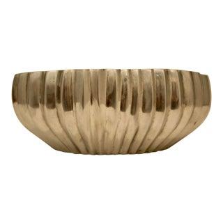 Dansk Organic Pleated-Look Aluminum Bowl