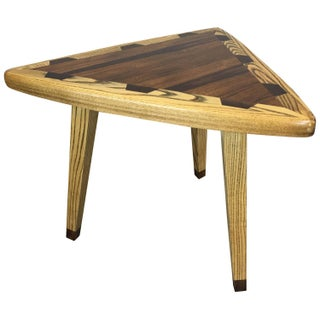 Mid-Century Guitar Pick-Style Side Table