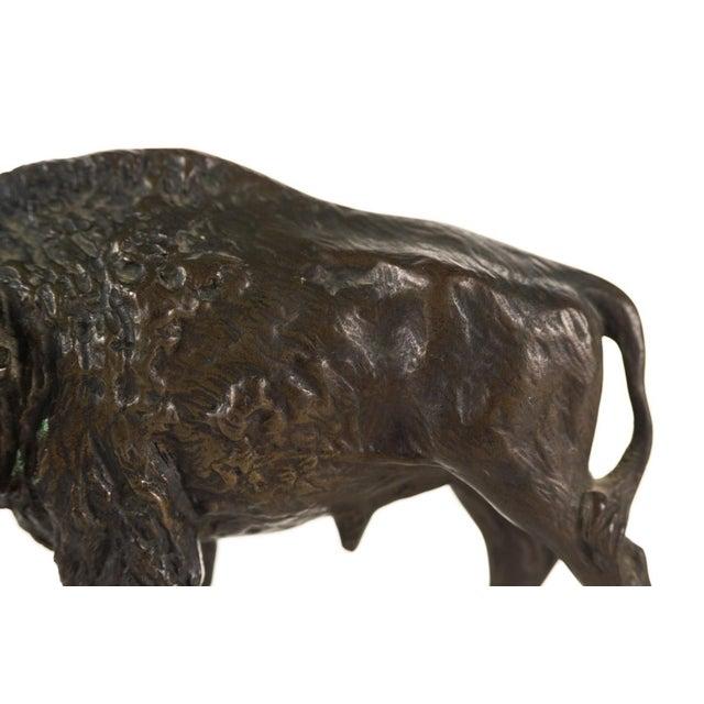 "Austrian Bronze 5"" Buffalo - Image 7 of 9"