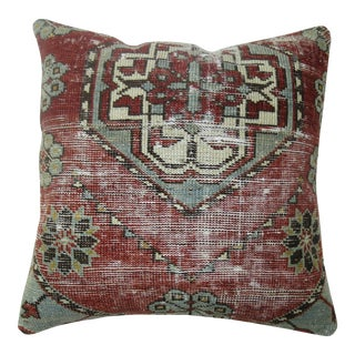 Shabby Chic Antique Rug Pillow