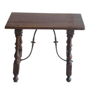 Small Iberian Table with Inlay