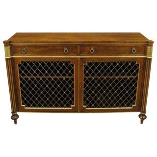 Arthur Brett & Sons Regency Style Rosewood Sideboard